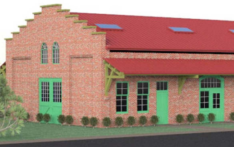 Black Rock Freight house rendering 2